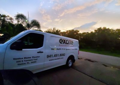 Excite sound and vision van